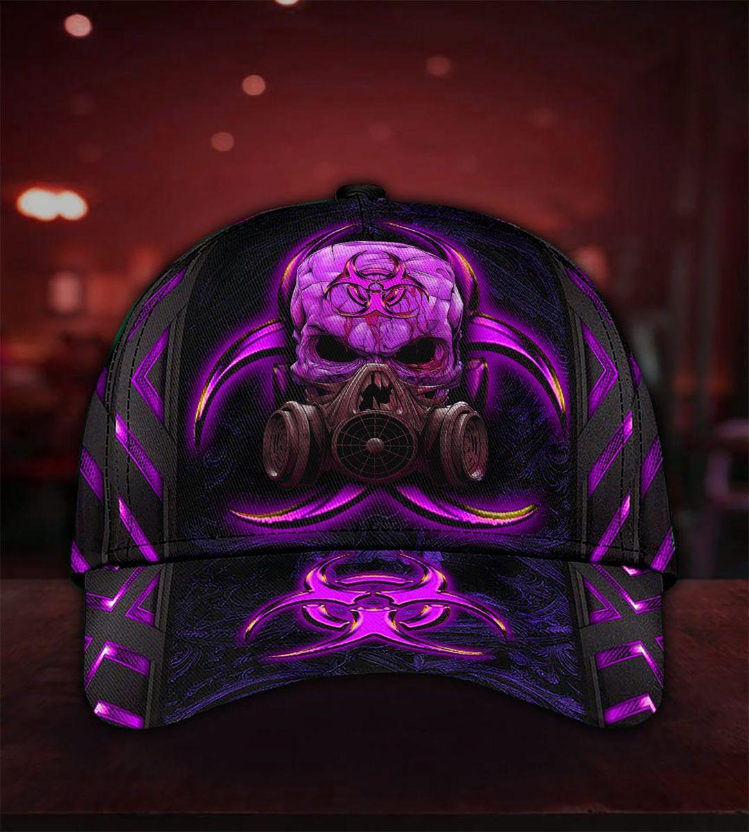 Alien Biohazard Skull Cap4