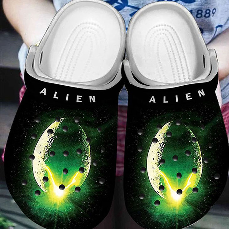 Alien Horror Movies Crocs Crocband Clog