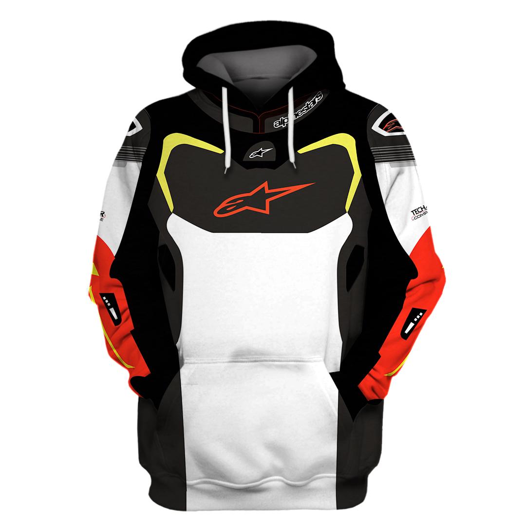 Alpinestars 3D Hoodie And Shirt