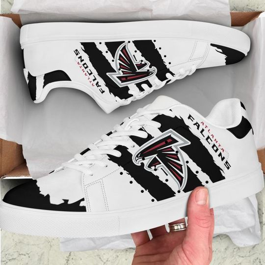 Atlanta Falcons Stan Smith Low Top Shoes