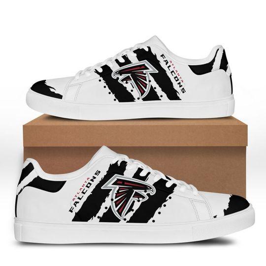 Atlanta Falcons Stan Smith Low Top Shoes1