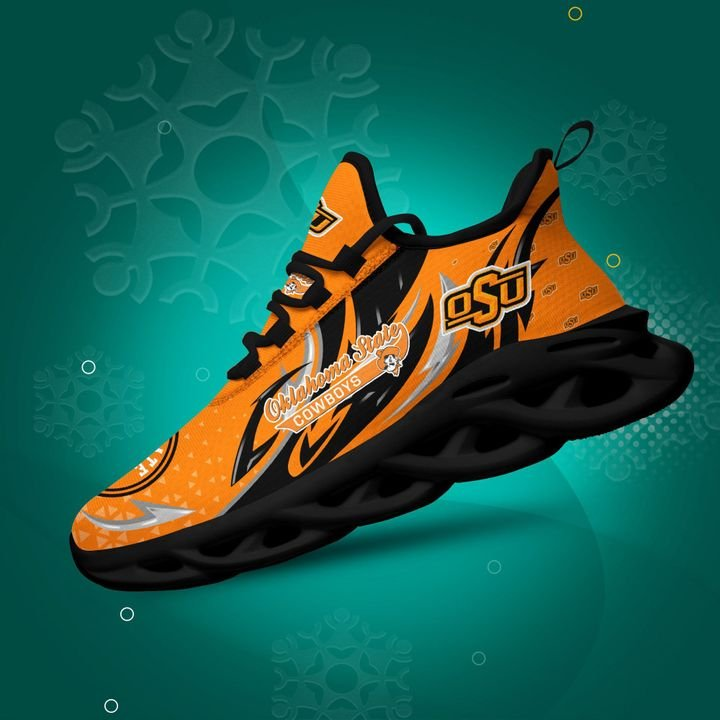 Oklahoma State Cowboys clunky Max Soul High Top Shoes 4