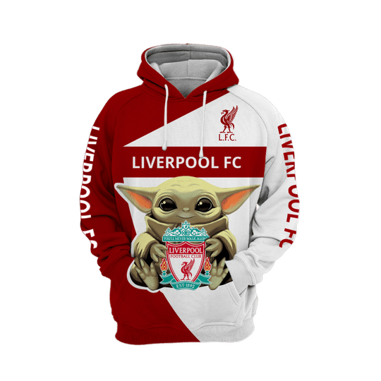 Baby Yoda liverpool 3d all over print hoodie1