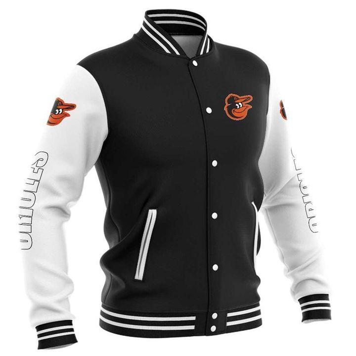 Baltimore orioles baseball jacket 3