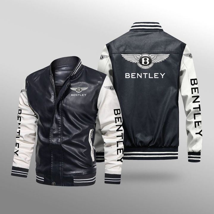 Bentley Leather Bomber Jacket 1