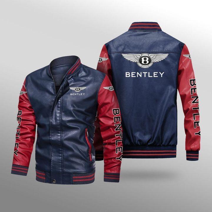 Bentley Leather Bomber Jacket 4