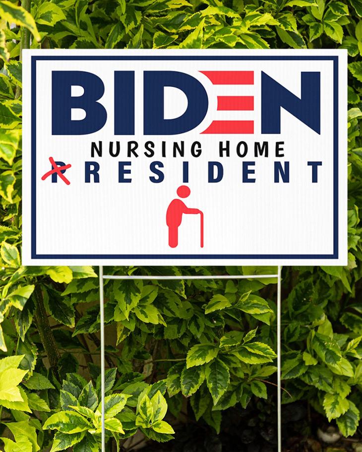 Biden Nursing Home President Yard Sign1