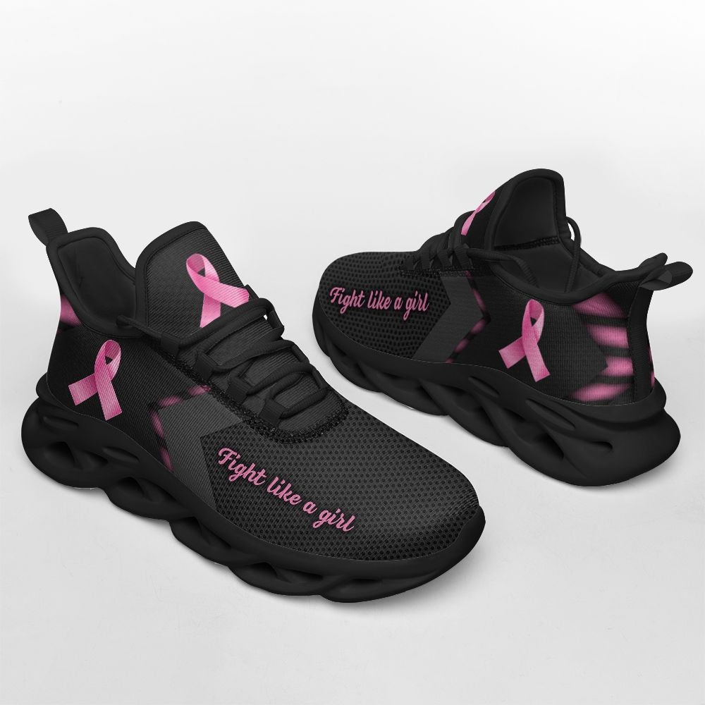 Breast cancer fight like a girl clunky max soul shoes4