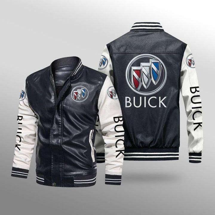 Buick Leather Bomber Jacket 1