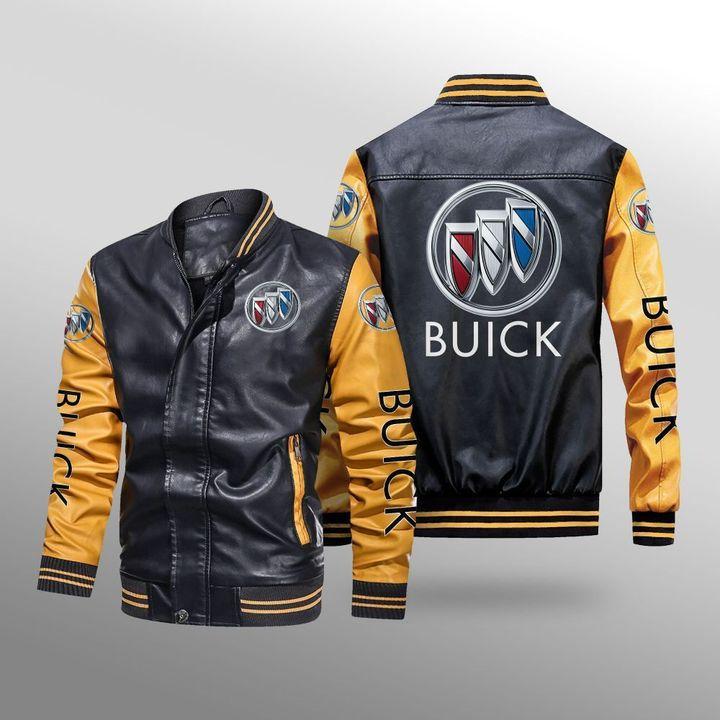 Buick Leather Bomber Jacket 3