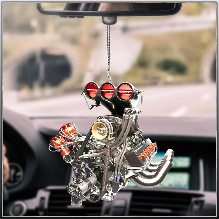 CamelliStore Drag Racing car hanging ornaments2