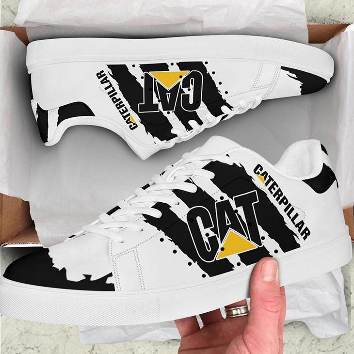 Caterpillar Logo Stan Smith Low Top Shoes