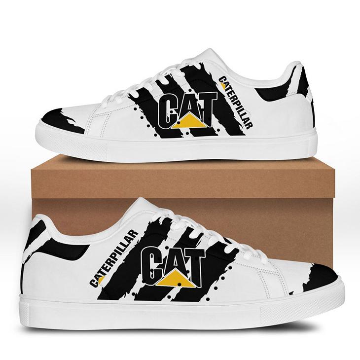 Caterpillar Logo Stan Smith Low Top Shoes1