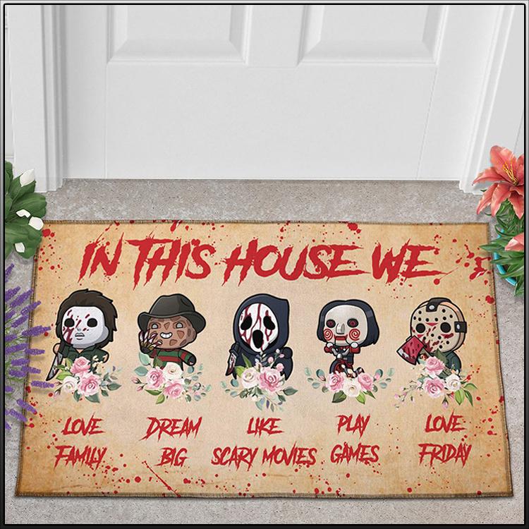 Chibi Cute Horror In This House We Doormat2