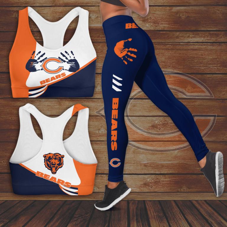 Chicago Bears Logo Sport leggings 1