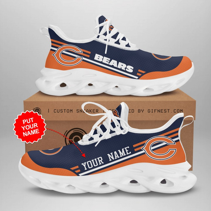 Chicago Bears custom personalized clunky max soul shoes 2