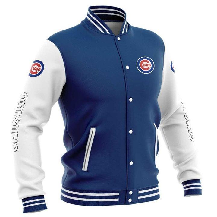 Chicago cubs baseball jacket 4