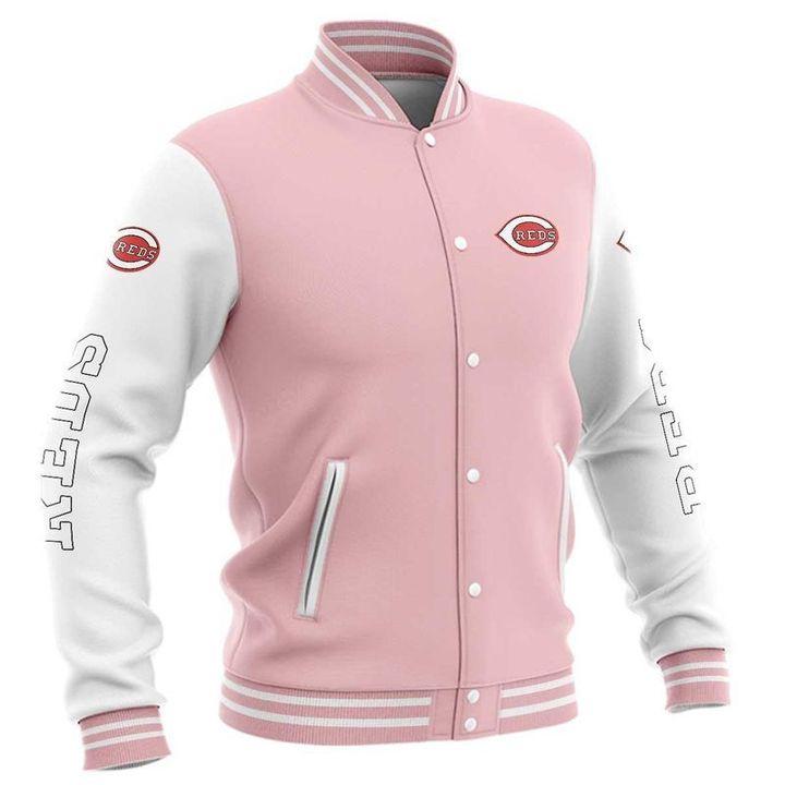 Cincinnati reds baseball jacket 1