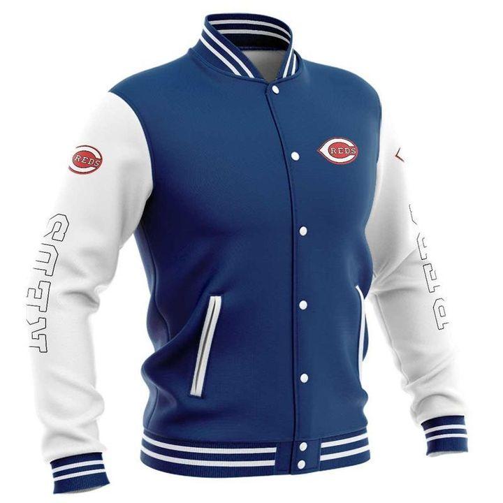 Cincinnati reds baseball jacket 4