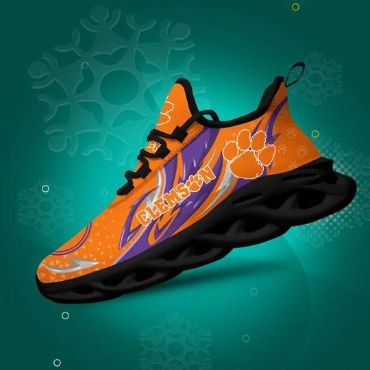 Clemson Tigers clunky max soul shoes 1