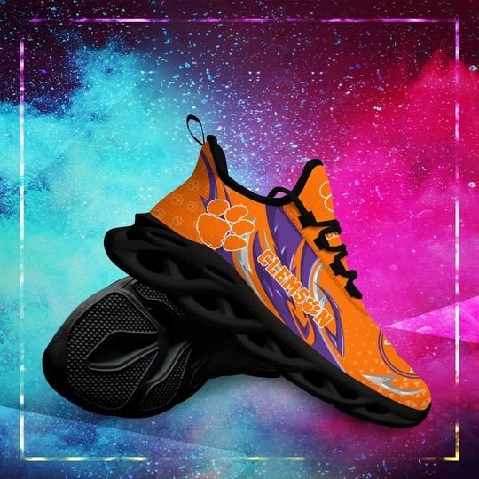 Clemson Tigers clunky max soul shoes 4