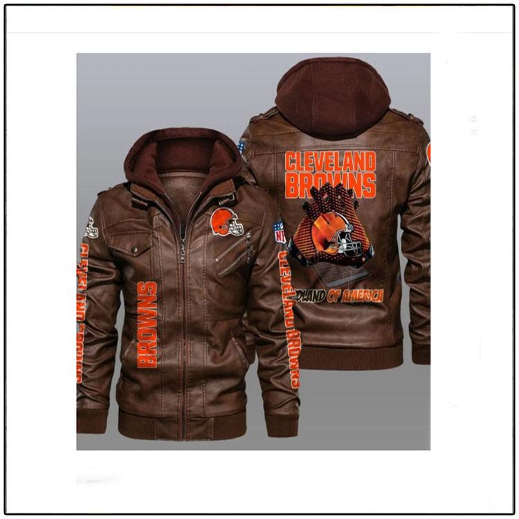 Cleveland Browns Redlands Of America Leather Jacket