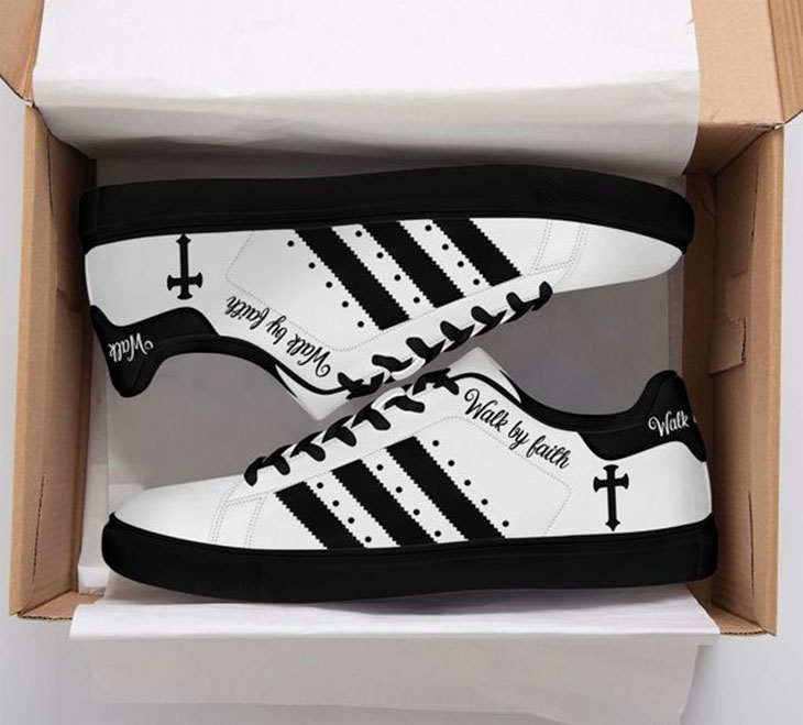Cross Jesus Walk BY Faith Stan Smith Low Top Shoes