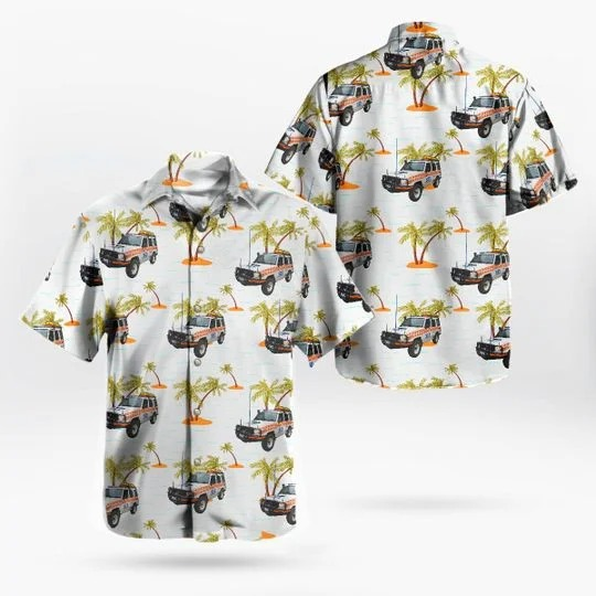 Victoria state emergency service vicses transport hawaiian shirt 1