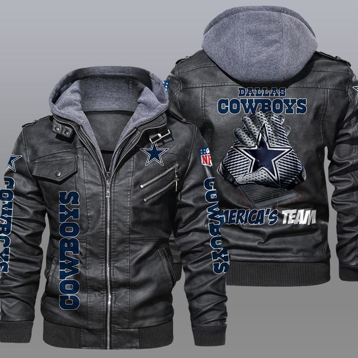 Dallas Cowboys Americas Team Leather Jacket