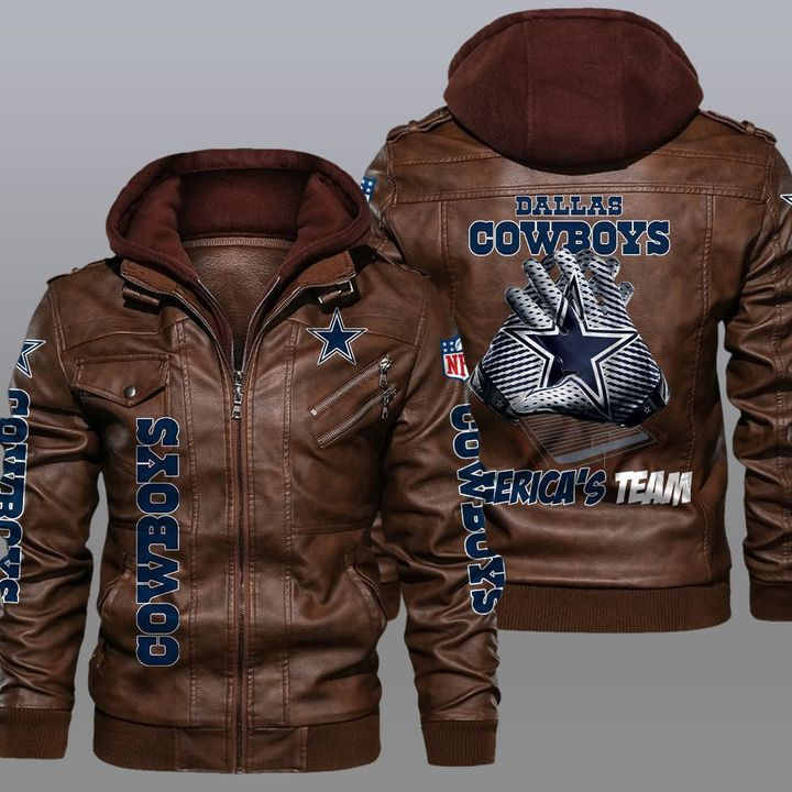 Dallas Cowboys Americas Team Leather Jacket1