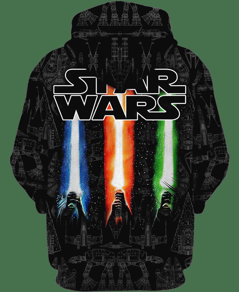 Dark Side Darth Vader 3d over printed hoodie and sweatshirt 1