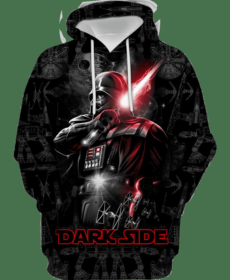 Dark Side Darth Vader 3d over printed hoodie and sweatshirt 3