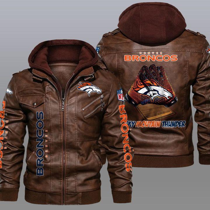Denver Broncos Leather Jacket1