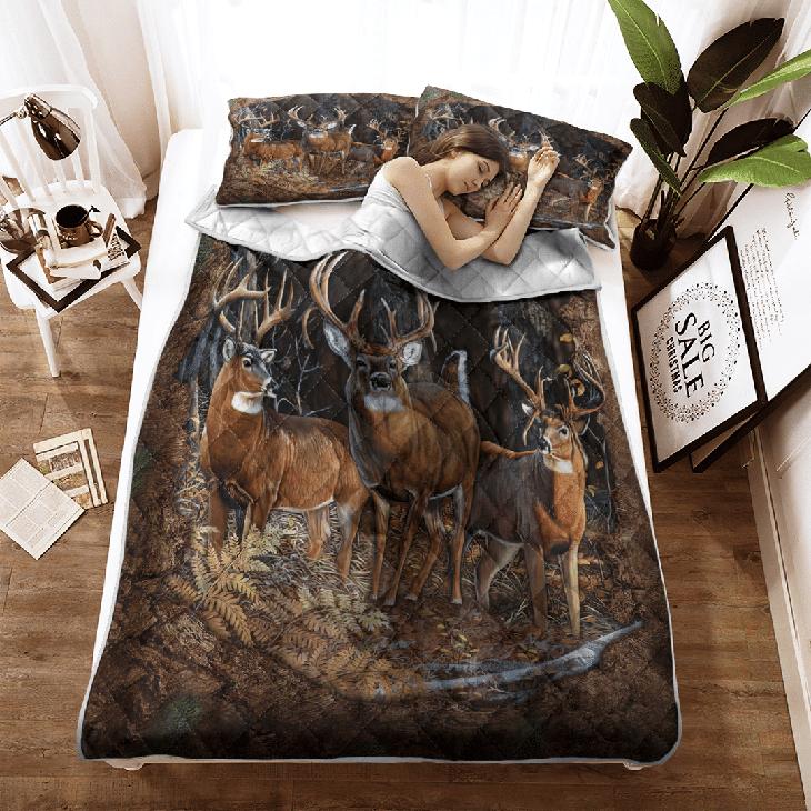 Derr Hunting Quilt Bedding Set2