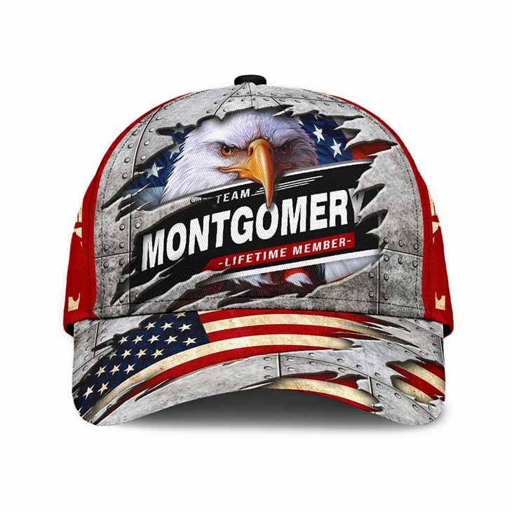 Eagle Never Underestimate The Power Of Mongomery Cap Hat