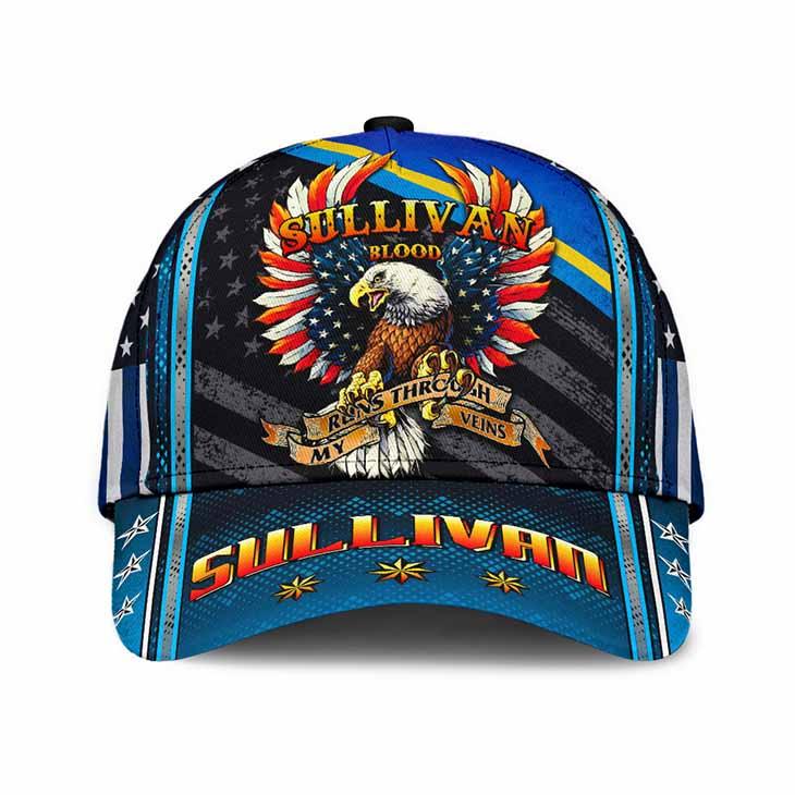 Eagle Sullivan Blood Runs Through My Veins Sullivan Cap Hat