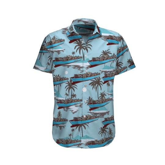 Maersk Line Maersk Mc Kinney Moller Hawaiian Shirt 1