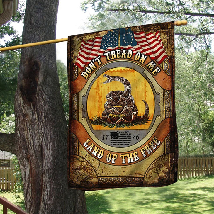 Gadsden Flag Dont Tread On Me Land Of The Free Flag1