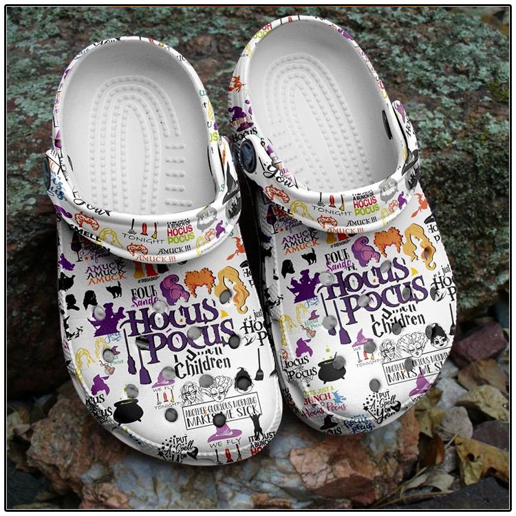 Halloween Hocus Pocus Crocband Clog Shoes 1