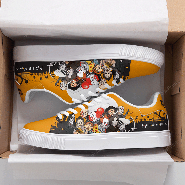 Halloween Horror Logo Stan Smith Low top Shoes