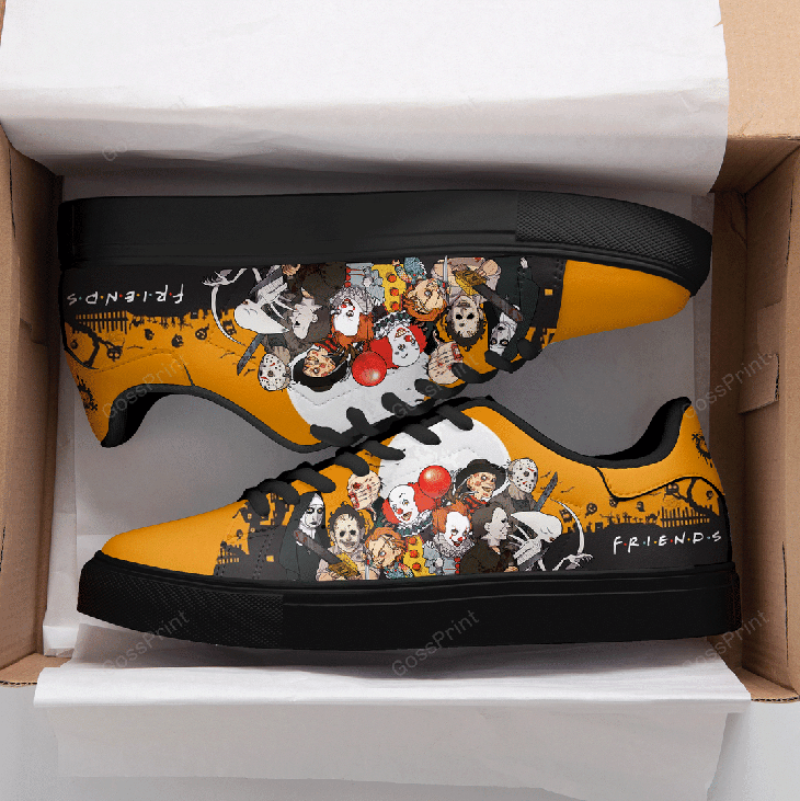 Halloween Horror Logo Stan Smith Low top Shoes1