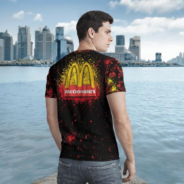 Halloween Mcdonalds Jason Voorhees Michael Myers 3d Tshirt2