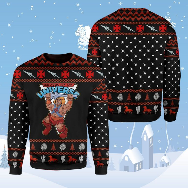 He Man master of the universe Ugly Christmas Sweater
