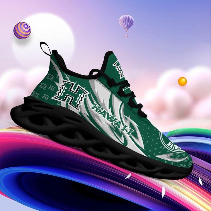 Hawaii Rainbow Warriors Clunky Max Soul High Top Shoes 4