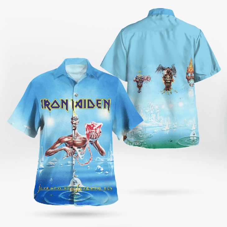 Iron Maiden Hawaiian Shirt4