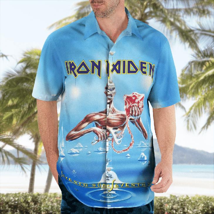 Iron Maiden Hawaiian Shirt6