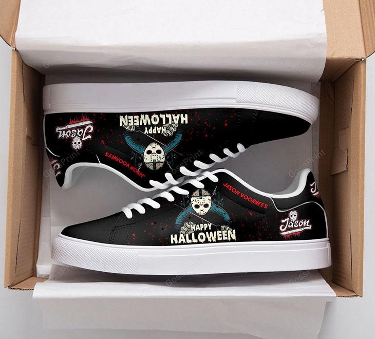 JASON VOORHEES Happy Halloween Stan Smith Low top Shoes