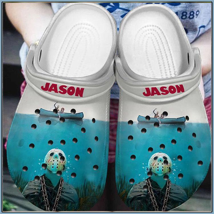 Jason Horror Movies Crocband Clog1
