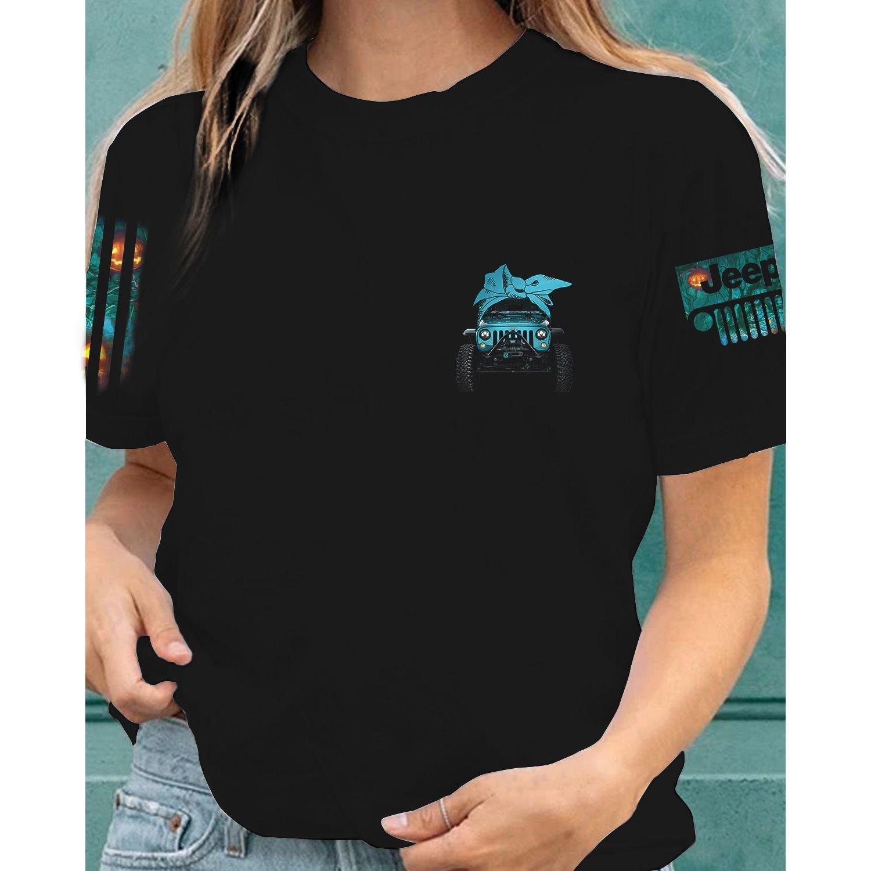 Jeep Grandma like a regular grandma but cooler 3d shirt 4