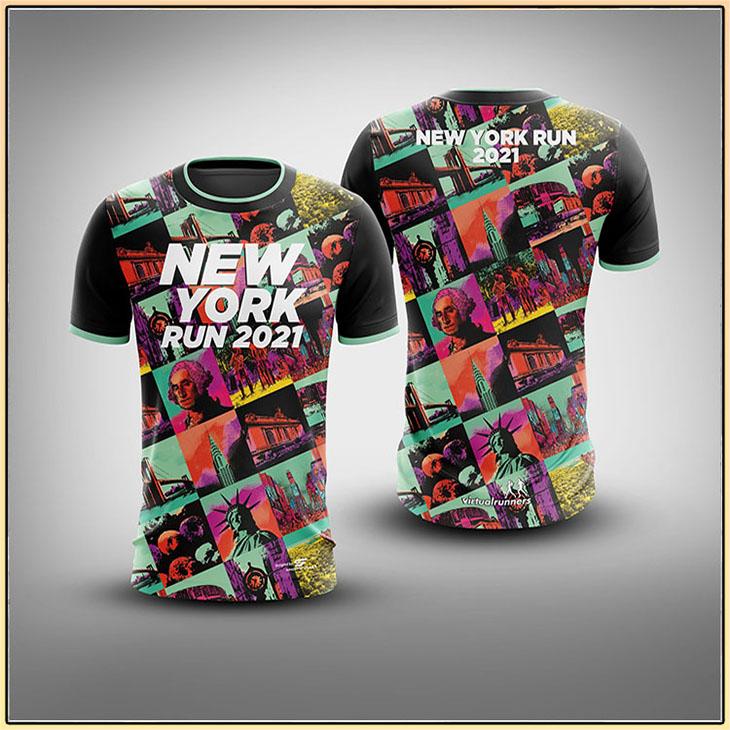 New York Run 2021 3D Tshirt1